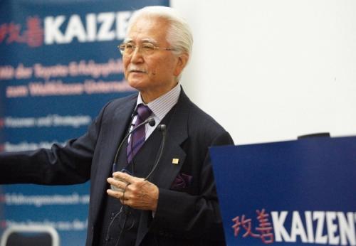 Prof. Imai, guru da filosofia Kaizen-Lean